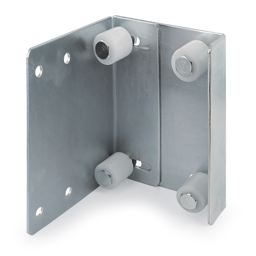 adjustable guide plate with fixing plate