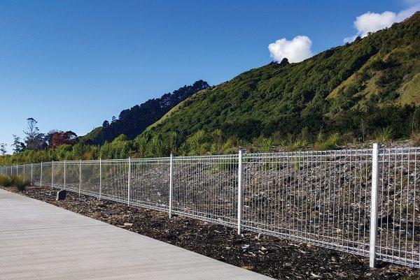 Spartan Fence Panel Fencing new zealand aluminium boundary