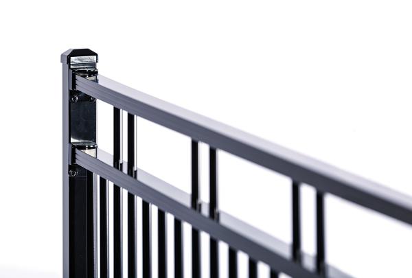 boundary fence new zealand aluminium fencing duo